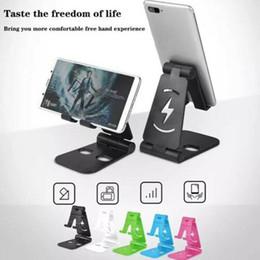 2019 настольная подставка для мобильного телефона Универсальная двойная складная подставка для стола для мобильного телефона дешево настольная подставка для мобильного телефона