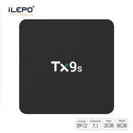 2019 mxq pro 4k nucleo Android TV Box TX9s Amlogic S912 Octa 2 + 8GB 1 Pezzo 4k televisione con 2.4GHz Wifi Android 7.1 X96mini mxq pro mxq pro 4k economici