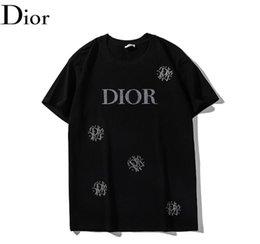 печатные рубашки для влюбленных Скидка 2019 новый стиль моды Алфавит печать футболки мужчин и женщин Уличная одежда Любители Рубашки Мода хип-хоп скейтборд box логотип Рубашка