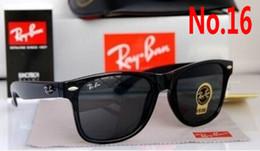 Óculos de sol wayfarer on-line-2019 Venda Quente Aviador Ray Óculos De Sol Piloto Do Vintage Marca Óculos de Sol Banda Polarizada UV400 Bans Homens Mulheres Ben wayfarer óculos de sol