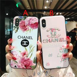 Casi telefonici online-Custodia in rilievo di marca del telefono mobile per iPhone XS MAX Xr X 7 7plus 8 8plus 6 6plus