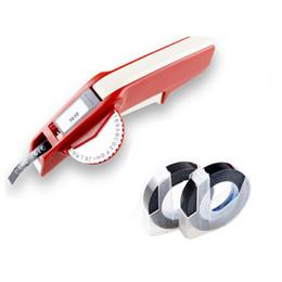 Etichette dymo online-Dymo 1610 Manual Label Maker per 3D Embossing Plastic 1610 Stampanti manuali di etichette per macchine Dymo facili da realizzare