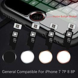 iphone haupt-motherboard Rabatt Universal Home Button Flex für iPhone 7 7p 7G 7plus 8G 8 8p 8plus Rückgabelösung Fingerabdruck reparieren Problem entsperren Touch-Key-ID