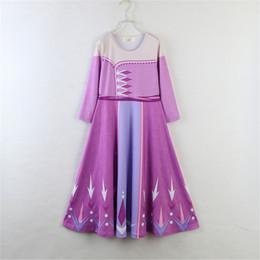 nouvelle mode de conception de jupe Promotion Bébé fille enfants robe à manches longues filles jupes princesse enfants jupe costume cosplay nouvelles boutiques de mode design