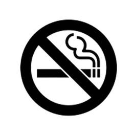 No Fumar Ventana Etiqueta de Vinilo Blanco Empaquetado Interesante Accesorios de Personalidad Decoración de Calcomanía desde fabricantes