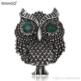 Grand oiseaux de hibou Broches Vintage Antiquités Bouquet Owle Pin Up Designer broche épingle à cheveux concepteur Clips Bijoux ? partir de fabricateur