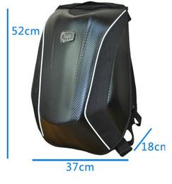 2018 yeni gelenler Mach 5 Şövalye su geçirmez sırt çantası Motocross sırt çantası bilgisayar çantası karbon fiber sert kabuk cheap hard shell backpacks nereden sert kabuk sırt çantaları tedarikçiler