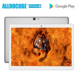 2019 quadcore android tablets ALLDOCUBE M5 10.1 Polegada Tablet PC 2560 * 1600 IPS 4G Telefonema Android 8.0 MTK X20 Deca núcleo 4 GB RAM 64 GB ROM GPS WIFI Phablet
