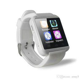 Deutschland Fabrikgroßverkauf preiswertes U8 smartwatch, intelligenter Uhr-Telefon-Kamerad U8 Bluetooth für AndroidIOS Iphone Samsung LG Sony 2018 dhgate heißer Verkauf Versorgung