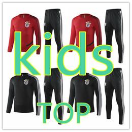 Мальчики спортивные костюмы онлайн-Бенфика 2020 новый детский спортивный костюм набор мальчиков футбол обучение спортивный костюм 19 20 дети зимние пальто мальчик бег трусцой 270s 720 спортивные костюмы мальчиков