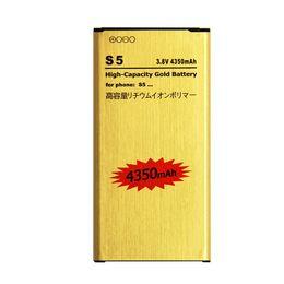 probando la batería del iphone Rebajas Nueva batería dorada de alta capacidad 4350mAh para cualquier Samsung Galaxy S5 i9600 G900 con envío gratuito de línea de batería UPS de 7-12 días