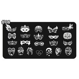2019 clou conçu 24 1 Pcs Ongles Estampage Plaque 24 Modèles Divers Masques Nail Art Modèle Réutilisable Estampillage Modèle Ongles Outils Accessoires Tiaxin08 # promotion clou conçu 24
