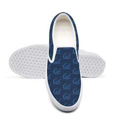 Canada Casual CALIFORNIA GOLDEN BEARS Football bleu en toile unisexe, chaussures basses antidérapantes, imprimé design limité, édition cheap blue bear shoes Offre