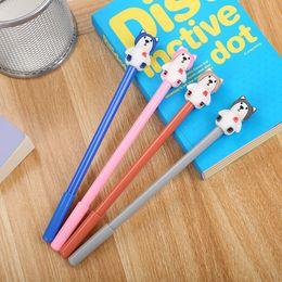 Donut Polar Pen 0.38mm Black Ink Pens Ballpoint Pen Office School Suppl PQ