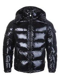 2019 abrigo de piel azul abrigo hombres CALIENTE nuevo diseñador de los hombres ocasional de las mujeres chaqueta abajo abajo cubre para hombre caliente al aire libre Outwear chaquetas Parkas pluma de invierno de los hombres
