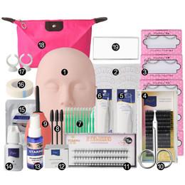 permanente falsche wimpern Rabatt Falsche Wimpern Semi Permanent Individuelle Wimpernverlängerung Curl Wimpern Starter New Beauty Makeup Kit Tool