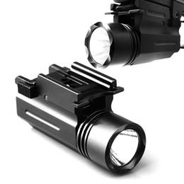Deutschland Outdoor Jagd Lichter 200Lm LED X100 taktische Taschenlampe alle Metall hängende Taschenlampe 20MM Schiene universelle hängende Taschenlampe Versorgung