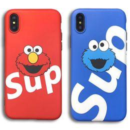 Argentina Estuche para teléfono de diseñador de moda para iPhone XS XR XSMAX 7plus / 8plus 7/8 6P / 6SP 6 / 6S El mejor regalo para el estuche de San Valentín con cartón lindo cheap carton phone Suministro