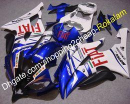 Kits de carenados del mercado de accesorios yamaha r6 online-Para Yamaha YZF600 R6 2008-2016 YZF-R6 YZFR6 2009 2010 2011 2012 2013 2014 2015 Body Aftermarket Kit Carenado (moldeo por inyección)