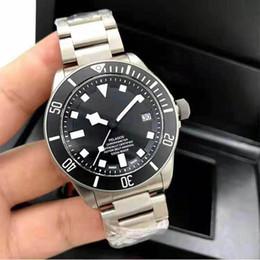 Venta al por mayor de alta calidad para hombre reloj de lujo sólido de acero inoxidable PELAGOS 42 mm hombres movimiento automático reloj Mechnical reloj de los hombres desde fabricantes