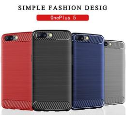 2019 imballaggio originale del telefono mobile Custodia originale Oneplus 5 5T per telefono Custodia morbida per cellulare TPU per confezione sacchetto nero PP Oneplus 5 6T