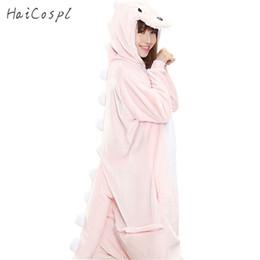 Fiesta de disfraces Dinosaurio Pijama Set Mujeres Invierno Kigurumi Homewear Chica Onesie Flannel Pink Animal Cosplay Traje Fiesta Mono Adulto Cálido desde fabricantes