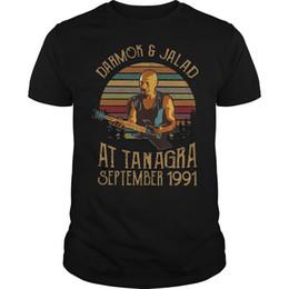 2019 camisa de denim homens 6xl Darmok E Jalad Em Tanagra Setembro De 1991 Do Vintage T Shirt Dos Homens De Algodão S-6XL denim roupas camiseta camisa de denim homens 6xl barato