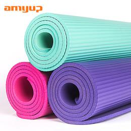 Nbr Yoga Pad Allungamento Yoga Ispessimento Bodybuilding Pad Principiante Maschio Signora antiscivolo Motion Blanket da