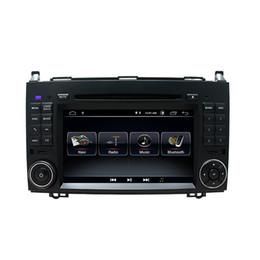 """cargador de coche mercedes Rebajas Reproductor de DVD para coche Android 9.0 con pantalla táctil de 7 """"para Mercedes-benz B200 W169 A160 Viano Vito GPS NAVI RADIO BT wifi Reproductor multimedia"""