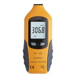 Canada Détecteur de fuite à micro-ondes numérique Analyseur de gaz d'échappement numérique LCD HT-M2 Système d'alarme de sécurité domestique Offre