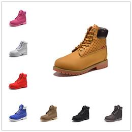2019 6 pollici marchio di moda in pelle di lusso designer uomini all aperto stivali  scarpe sneakers neve pioggia donna mens stivali invernali dr martins 7279928950e