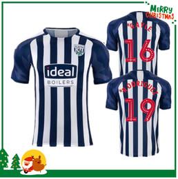 uniformes de futbol marrones Rebajas 19 20 wba West Browns Home kit camisa adulto Fútbol Jersey Gayle Rodriguez camiseta de fútbol 2019 2020 para hombre superior uniforme CAMISETA en ventas