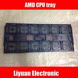 Бесплатная доставка AMD CPU лоток / чехол защиты процессора / подставка для 940, 939, 938, 754 различных типов хранения от
