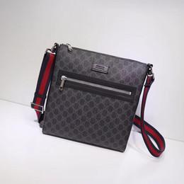 Hochwertige Luxus-TASCHEN Größe 27 * 28,5 * 5 cm Männer Taschen Mode Männer Taschen Cross Body 474137 von Fabrikanten