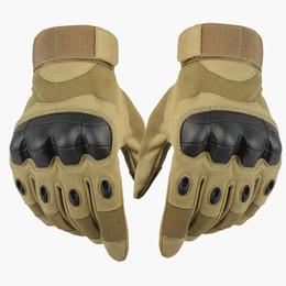 handschuhe taktisch grün Rabatt Schwarz Tan Grün Männer Taktische Handschuhe Airsoft Military Paintball Schießen Outdoor Army Carbon Knuckle Volle Fingerhandschuhe