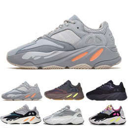 beste billige massage Rabatt 2019 Billig Mauve 700 Wave Runner Mens Women Designers neue 700 V2 Static Beste Qualität Kanye West Laufschuhe 5-11.5