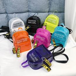 2019 sacs à main pour enfants Ins clear Mini filles sacs à dos jelly fashion sacs à dos pour enfants sacs pour filles sac de plage casual sac à dos sacs à main pour enfants A5089 sacs à main pour enfants pas cher