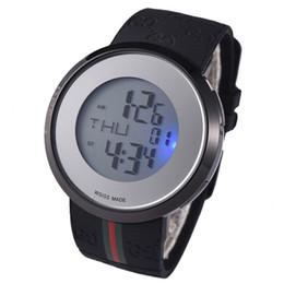 Argentina 2019 venta caliente de lujo CCG grandes relojes para hombre de alta calidad LED reloj de pulsera con caja de regalo Suministro