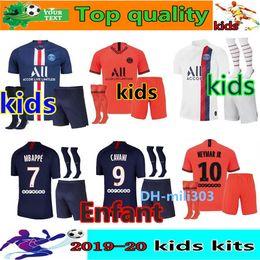 Chemise neymar en Ligne-maglia calcio maillot psg kids 2019 2020 Jordan kit calcio 19 20 NEYMAR JR Maillot de foot psg maglia bambino maglia MBAPPE maglia da calcio