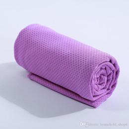 Lenço frio on-line-Mágica Toalha Ice toalha de resfriamento rápido verão frio Esportes sensação de frio refrescar toalhas lenço para desporto ao ar livre