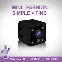 2019 câmera de vídeo h2 FHD 1080 P Mini Câmera Wi-fi DVR Esporte DV Recorder com Visão Noturna Pequena Câmera de Ação com Gravação De Vídeo De Áudio WI-FI Hotspot