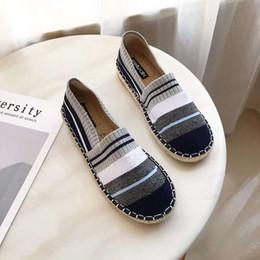 e363c236 2019 zapatos coreanos de las señoras Tejido elástico Mocasines Zapatos  Mujer Mocasines Resbalón en enredaderas Señoras