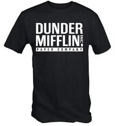 Società di carta online-Maglietta da uomo Dunder Mifflin Paper Company