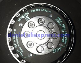 ventilador superred 12v Rebajas Nuevo ventilador de radiador original PAPST / EBM turbina R2E280-AE52-17 todo metal