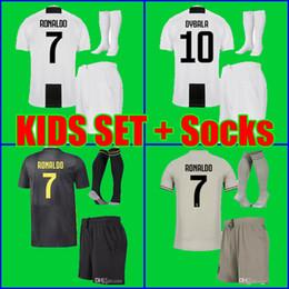 China Thailand kids 2019 RONALDO Juventus soccer jersey DYBALA HIGUAIN  jersey 18 19 football kit MANDZUKIC 528a6ccfd