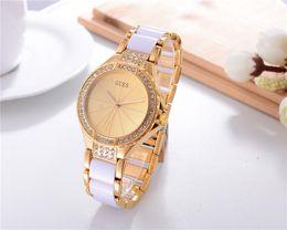Famosa marca mujeres waches pulseras montre femme banda de cerámica de lujo señoras reloj de moda reloj de cuarzo pulsera de las mujeres relojes mujer desde fabricantes