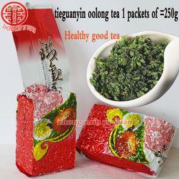 Lazos chinos online-2019 nuevo 250g Té chino Oolong de grado superior, té TieGuanYin, nuevos productos orgánicos orgánicos para el cuidado de la salud, regalo Tie Guan Yin té