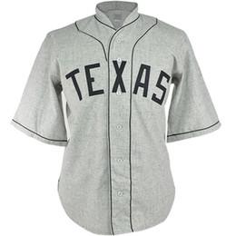 Logo de carreteras online-Texas Black Spiders 1938 Road Jersey Movie Baseball Jersey 100% Nombre cosido Número Logos para hombres Mujeres Juventud Mezcla orden Envío gratis