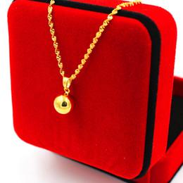 bola de ouro pingente de luz Desconto Personalidade banhado a ouro micro-conjunto gemstone colar feminino jóias de cobre banhado a jóia não-desvanecimento pequena bola de luz colar de pingente jewelr