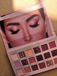 2019 bc box Plus récent! Palette de fard à paupières maquillage HUDAMOJI palette de fards à paupières huda moji 18 couleurs NUDE decay Palettes de maquillage